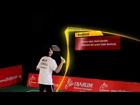 Tutorial Bermain Bulutangkis - Backhand video