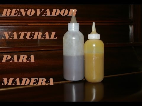 RENOVADOR CASERO PARA  MADERA. Renovator for wood. Home