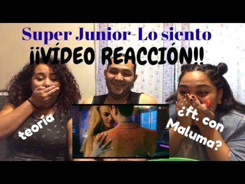 [VÍDEO REACCIÓN/MV REACTION] Super Junior ft. Leslie Grace - Lo Siento