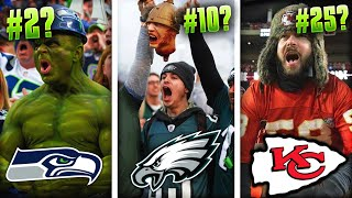 Ranking the Most ANNOYING NFL Fanbases of ALL-TIME from WORST to FIRST