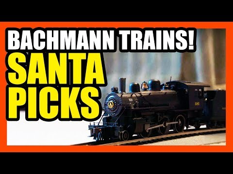 Bachmann Trains Review- Santa's Pick Saturday! | EpicReviewGuys CC