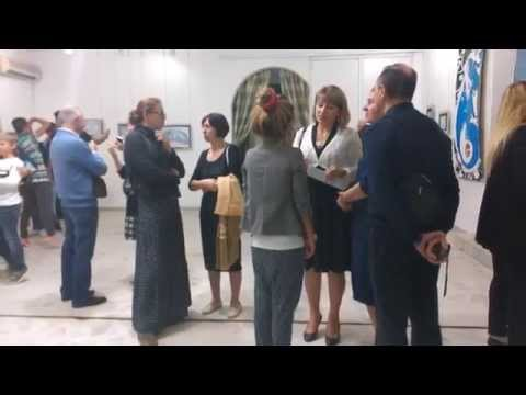Opening of the exhibition of Kate Port. Russian Cultural Centre in Tunis