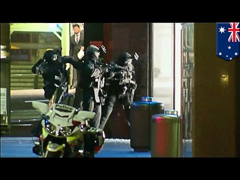Sydney Hostage Crisis: Animated Reconstruction Of Terrifying Final Moments In Australia video