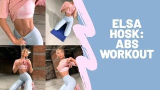 KILLER Abs WORKOUT by Victoria's Secret model Elsa Hosk