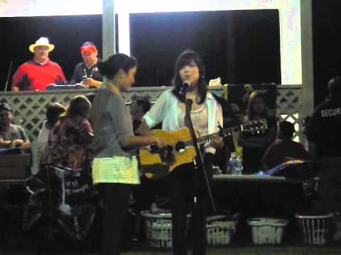 Kiowa Gordon serenaded by Akina Shirt