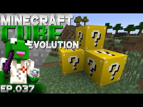 LUCKIER LUCKY BLOCKS!!?? - The Cube Evolution - Episode 37