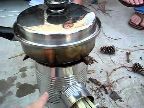 Best Rocket Stove Design Ever Part 1