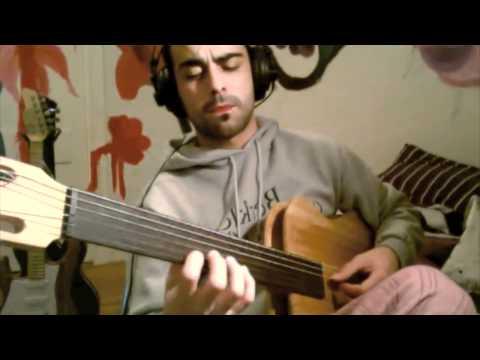 Javier GF Escudero Fretlees Guitar 2