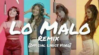 Aitana Ana Guerra Lo Malo Remix Ft Tini Greeicy Official Audio