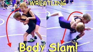 🏆Boy Body Slams Kid at WRESTLING TOURNAMENT!💪👦👍
