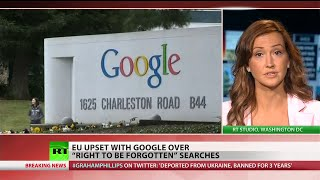EU fights Google over right to be forgotten