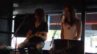 """Lee Angel & Juho Pitkänen """"The River"""" - Bruce Springsteen - OTR. 7.8.2014"""
