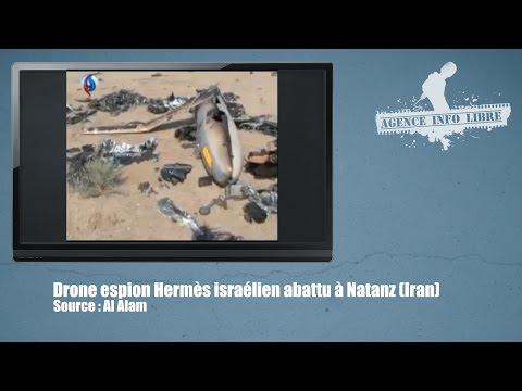L'Iran diffuse des images du drone israélien abattu dimanche.
