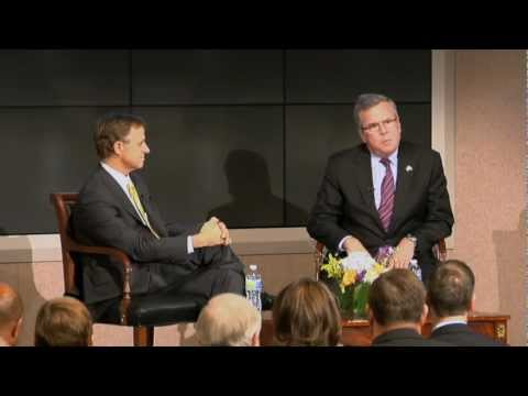 Gov. Bill Haslam & Gov. Jeb Bush Discuss Education Reform