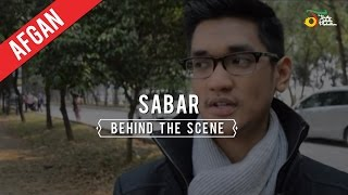 Afgan Sabar Behind The Scene