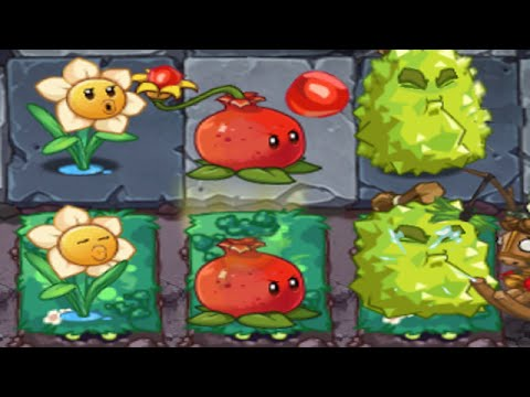 Plants Vs Zombies 2 Online: New Plants Durian Narcissus Pomegranate