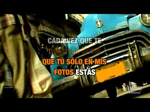 Juanes - Fotograf�a in the Style of Juanes & Nelly Furtado with lyrics (no lead vocal)