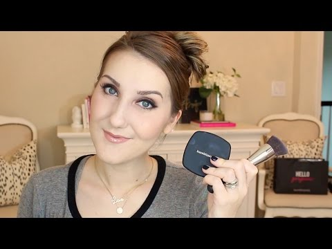 Bare Minerals Pressed Ready Foundation First Impressions & Full Routine