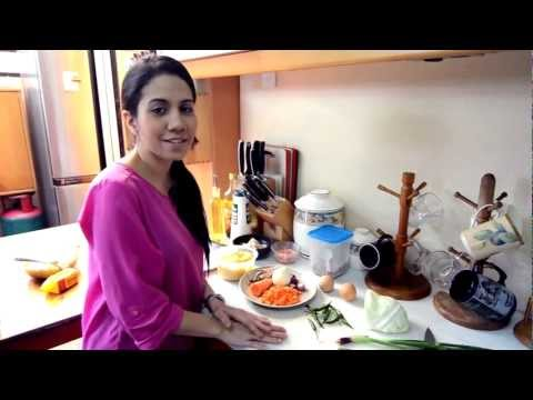 Real Cooking With Anis Nabilah - Episode 1 (Nasi Goreng / Fried Rice)