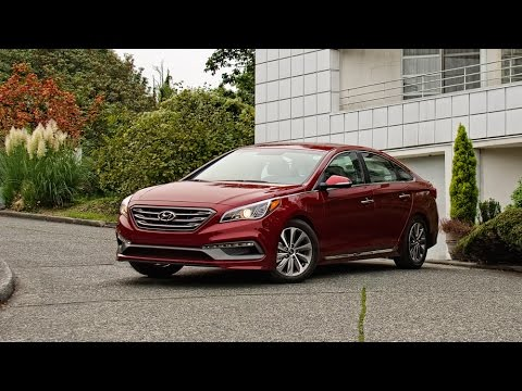 2015 Hyundai Sonata Sport Car Review