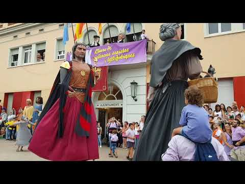 Gegants de Santa Coloma de Gramenet Festa Major 2018