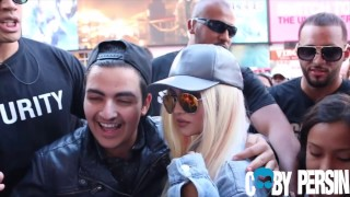 Kylie Jenner Look-A-Like Pranks New York City!