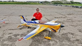 FREESTYLE MASTERS UK RC - ANDY RIGBY FLYING HIS 40% AJ LAZER DA 150cc - 2018