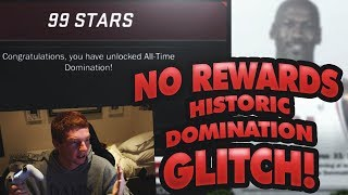 I DIDN'T GET MY REWARDS FOR COMPLETING HISTORIC DOMINATION!!