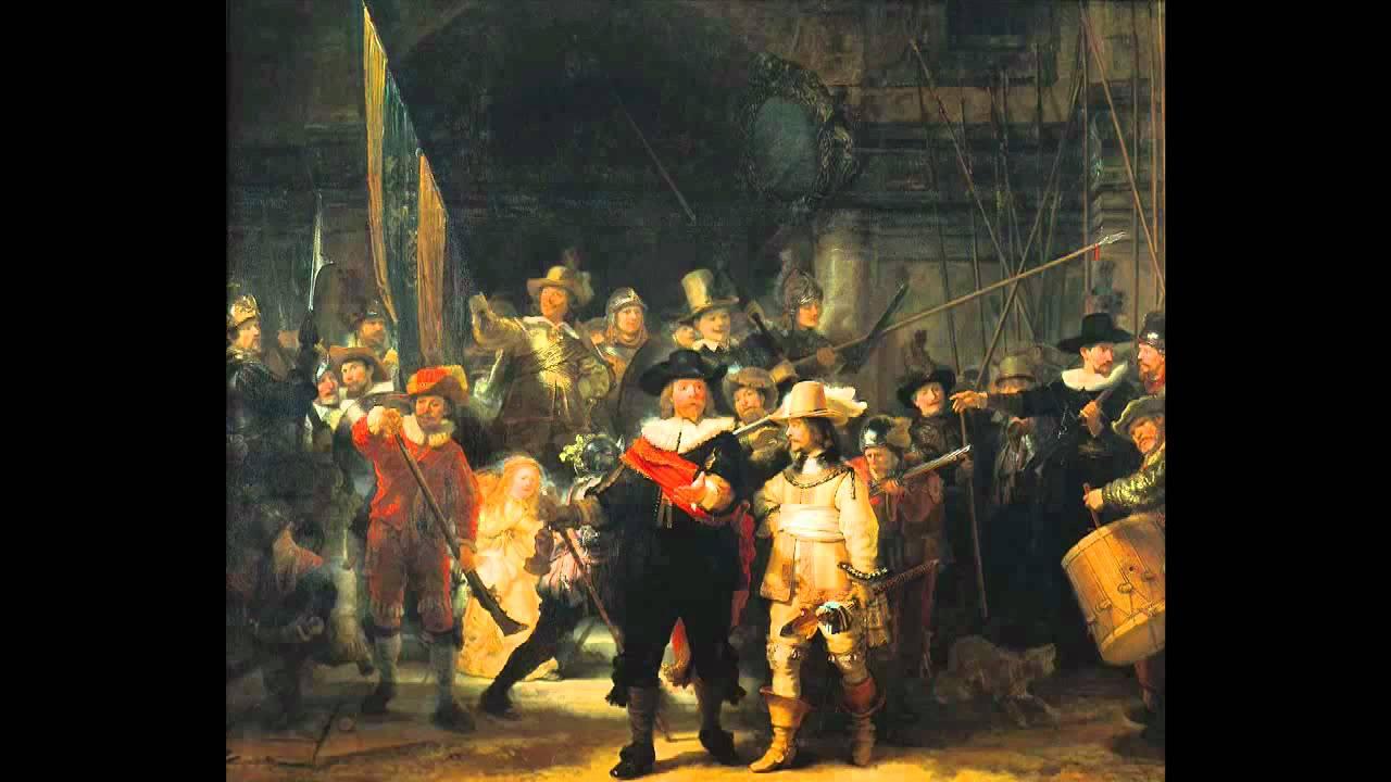 The Night Watch By Rembrandt Van Rijn Part I Youtube