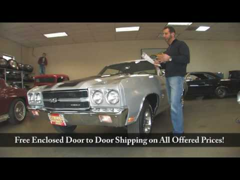 1970 Chevelle SS396 L78 Tony Flemings Ultimate Garage reviews horsepower ripoff complaints video