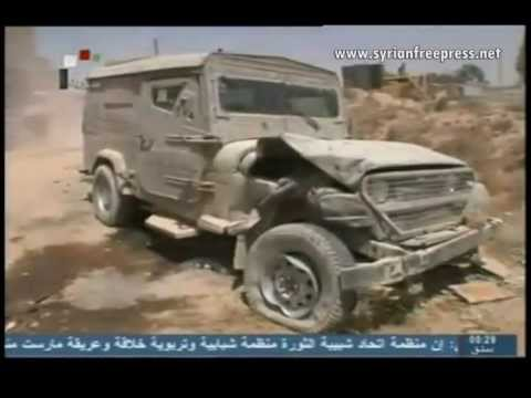 Syria News 20.5.2013, Army Seizes Israeli Vehicle used by Terrorists in al-Qseir