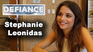 Defiance - Stephanie Leonidas Interview Comic-Con 2014