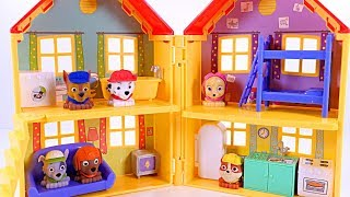Mejores Videos Para Niños Aprendiendo Colores - Paw Patrol Mashems Peppa Pig's House Learn Colors