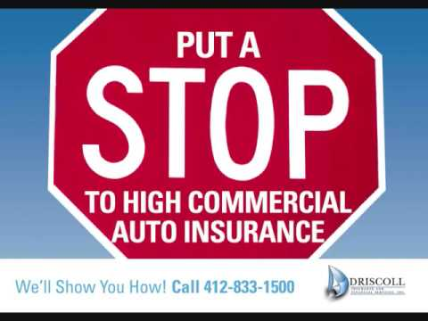 Commercial Auto Insurance in Pittsburgh PA, Covering you and helping save on Business car Insurance