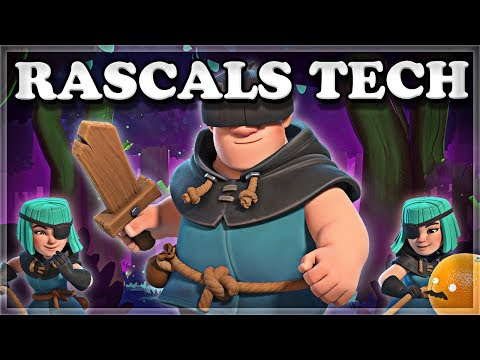 How to Counter and Use Rascals Tech | Clash Royale 🍊