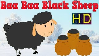Baa Baa Black Sheep Nursery Rhymes For Children | Baa Baa Black Sheep 3D Animated Rhyme For Kids