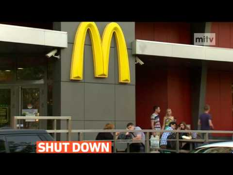 """mitv - Russia closes McDonald's for breaching """"numerous"""" sanitary laws"""