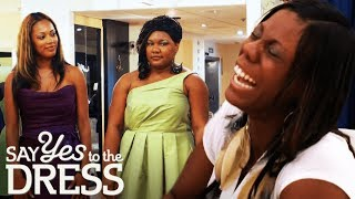 Bride Laughs at Plus Size Bridesmaid   Say Yes To The Dress Bridesmaids