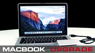 How to upgrade your Macbook Pro to maximum Storage - 2017