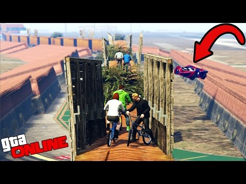 ТРАССА СМЕРТИ ДЛЯ BMX! (GTA 5 ONLINE)
