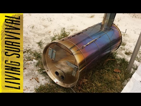 LiteOutdoors Titanium Wood Stove Review
