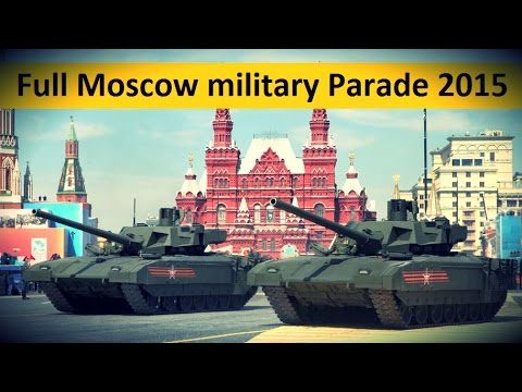 Full Moscow military Parade 2015 - 70th Anniversary of Great Victory Day [with English Subtitles]