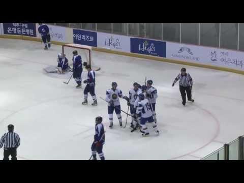 Южная Корея - Казахстан 0:5 хоккей