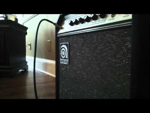 Ampeg GU-12 Amp Demo 2