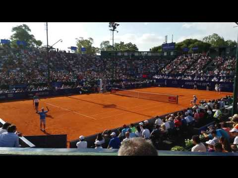 TIE BREAK TERCER SET - DOMINIC THIEM VS RAFAEL NADAL - ARGENTINA OPEN 2016 - SEMIFINAL