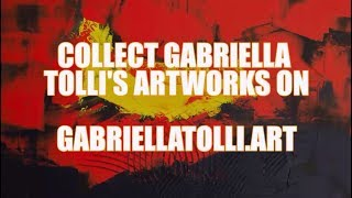 ARTWORK PAINTINGS FOR SALE : Gabriella Tolli Abstract Art