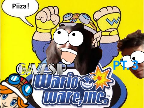 WarioWare, inc  PT.3 - Corri, Mona! - The Great GazSP