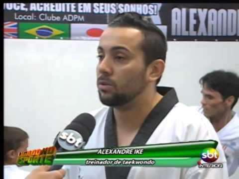 Lucas, revelação do taekwondo, está
