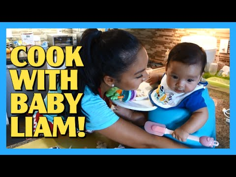 Cook With Baby Liam!