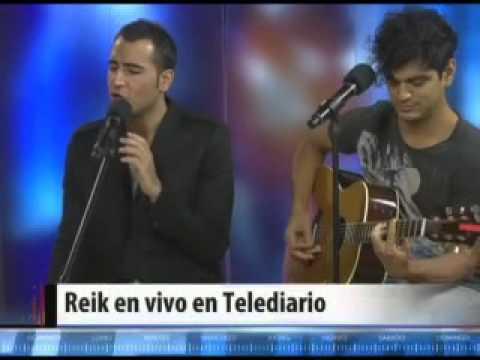 Reik en Telediario Live